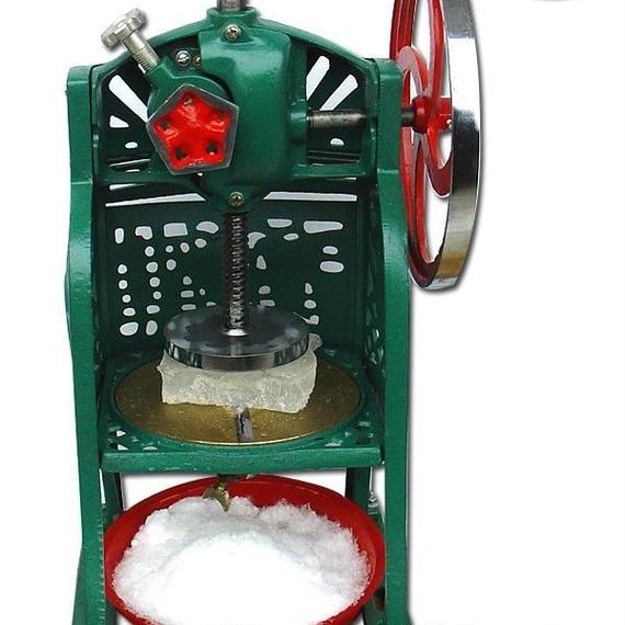 【送料無料!】業務用 手動式 かき氷機 ブロックアイススライサー 新品【新品】