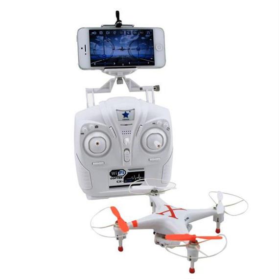 【送料無料!】Cheerson CX-30W(WIFI)プロポ付(MODE2のみ) カメラ付き 空撮セット ラジコンヘリ クワッドコプター ドローン FPV【新品】