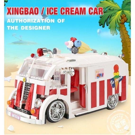 【送料無料!】Xingbao 08004本1000ピーステクニックシリーズ アイスクリーム車セット ブロックレンガ子供legoinglysおもちゃ【新品】