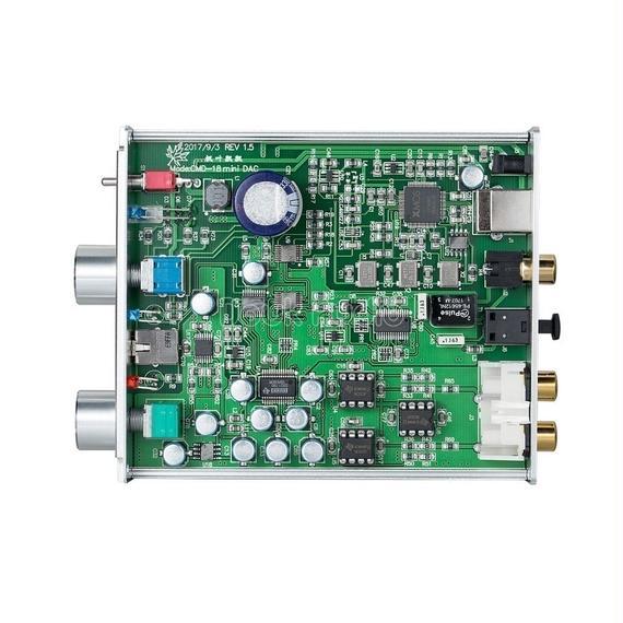 【送料無料!】2018最新のDouk XMOSのUSB DACオーディオデコーダDSD1796ハイファイヘッドフォンアンプCOAX / OPT PCM384K / DSD256 SPDIF【新品】