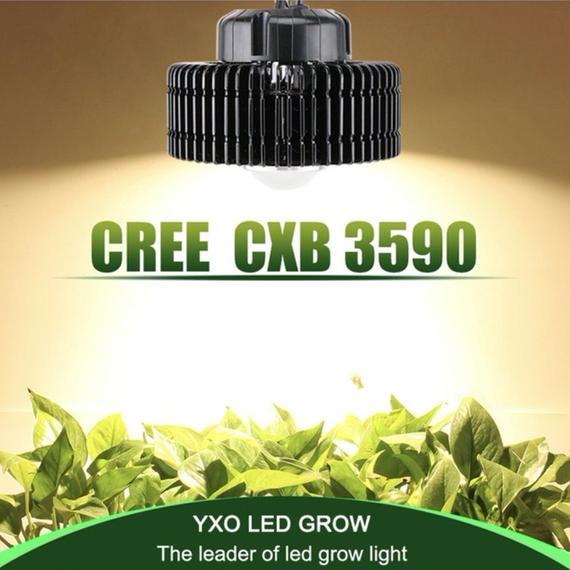 【送料無料!】 最強LED CREE CXB3590-X1 GROWライト 植物育成灯 MH HPS 置き換えに【新品】