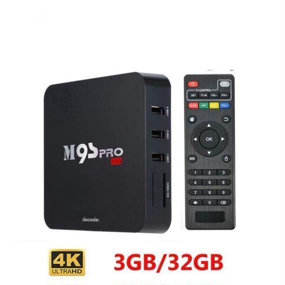 【送料無料!】Docooler M9S-PROのAndroidテレビボックス3ギガバイトDDR3 32ギガバイトROM Amlogic S905XクアッドコアKODI 16.0フル装備4K【新品】