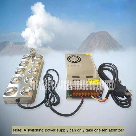 【送料無料!】高性能霧発生器 超音波霧化器 超音波霧化ユニット【新品】