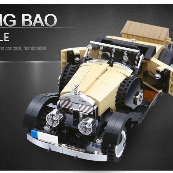 【送料無料!】XINGBAO ブロック ☆ クラシックカー ロールスロイス タイプ Classic Car Rolls-Royce Type ☆ 新品 ☆ 国内発送【新品】