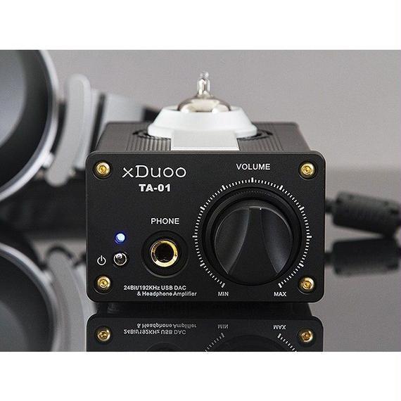 【送料無料!】Original XDUOO TA-01 ハイファイ 24ビット 192KHz USB DAC +チューブヘッドフォンアンプ・パワーアンプ A級 バッファ・アンプ【新品】