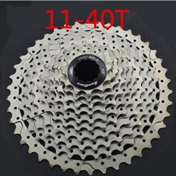 【送料無料!】SunraceCSMS3ms3自転車カセット10スピードバイクmtbフリーホイール_11-40T【新品】