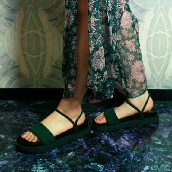 【Selected item】2way Sandal  / Green