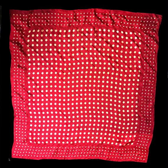 Dots patten scarf / 水玉デザインスカーフ