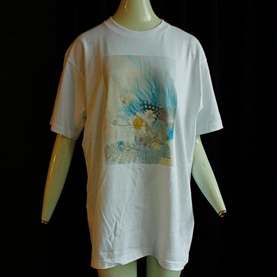 【fan C future】羽根T Shirt / white