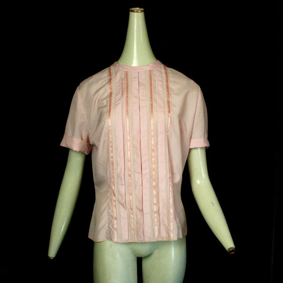 1970's Vintage【Gudy Bond 】 Silk blouse