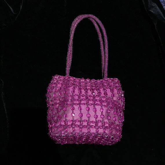 Beads hand bag / ビーズハンドバッグ