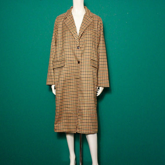 【migration】Over size brown coat / mg-127