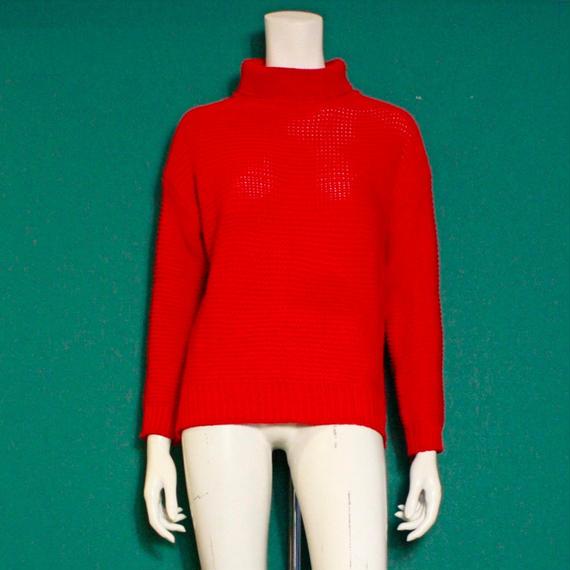 【migration】Turtleneck Knit Sweater