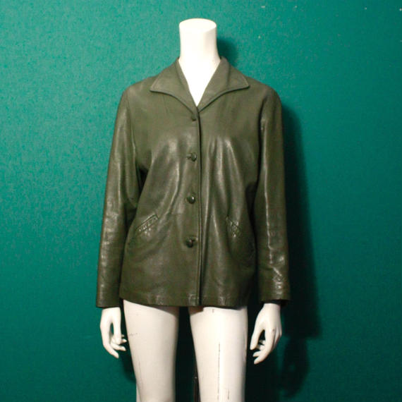 Vintage Leather Jacket / レザージャケット