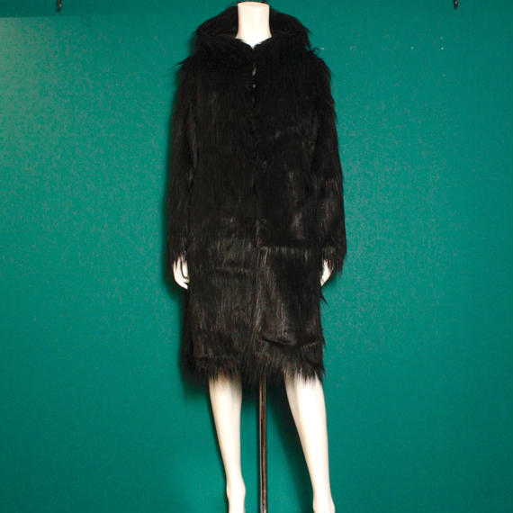 【migration】Fake fur long coat  / mg-100 / フェイクファーコート
