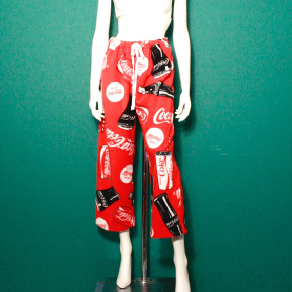 Coca-Cola print relaxasion pants / コカ・コーラプリントパンツ