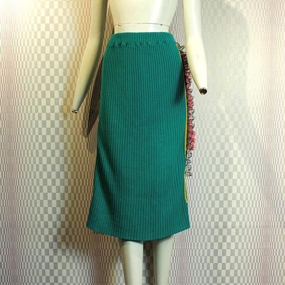 【bed】Remake  Knit Line Skirt