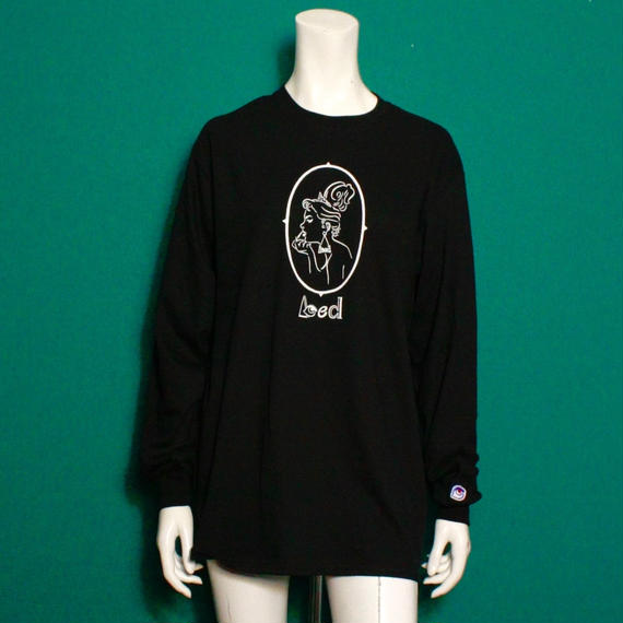 【bed】Original long sleeveT Shirt (Lady)/ Black