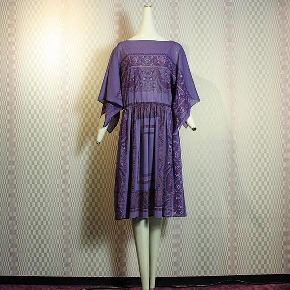 Paisley Lavender Dress
