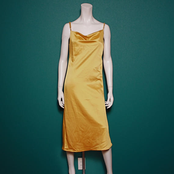 【migration】Glossy camisole dress /mg-186 / 光沢キャミソールドレス