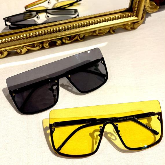 【Selected Item】Goggles flame sunglasses / mg248 / ゴーグルフレームサングラス