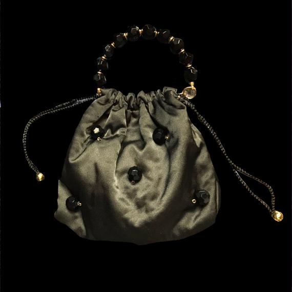 Big beads purse bag