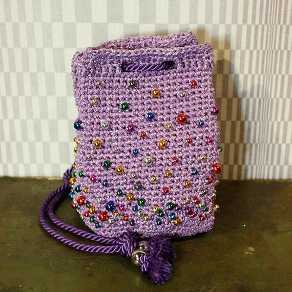 【TICA】Lavender Beads Bag