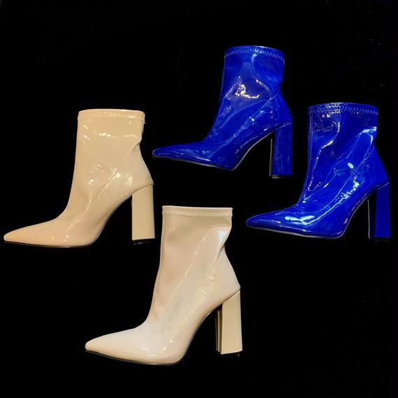 【Selected Item】Enamel boots  / エナメルブーツ