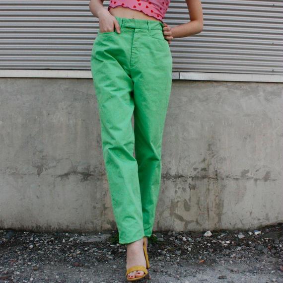 【Used】RALPH LAUREN Green pants /グリーンパンツ