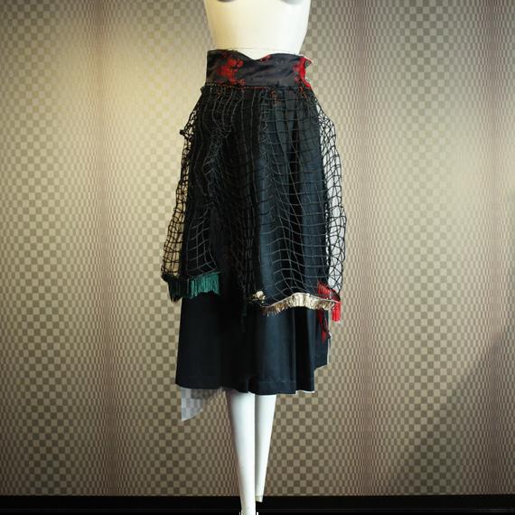 【FUTURE】China Net Skirt (Remake)