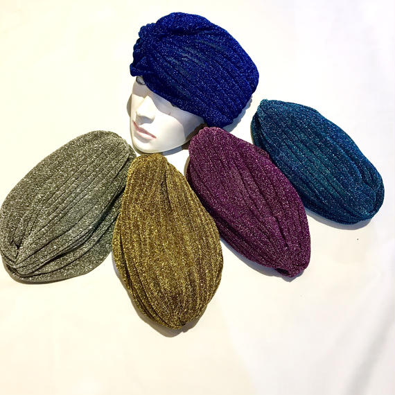 【Selected item】Glitter turban / グリッターターバン / mg-206