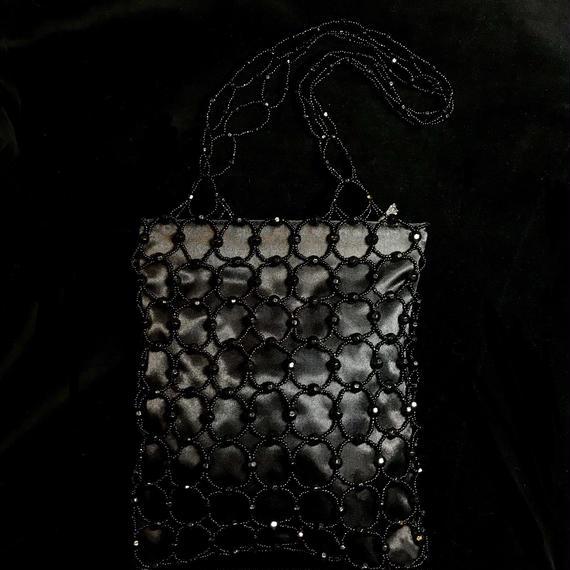 Braided beads bag  /  編みビーズバッグ