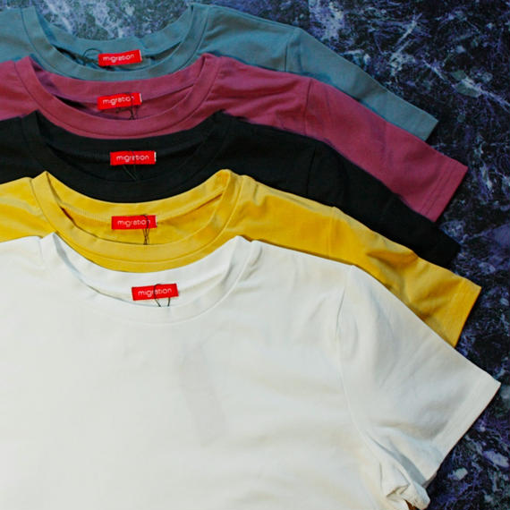 【migration】Color Stretch T Shirt / mg-007