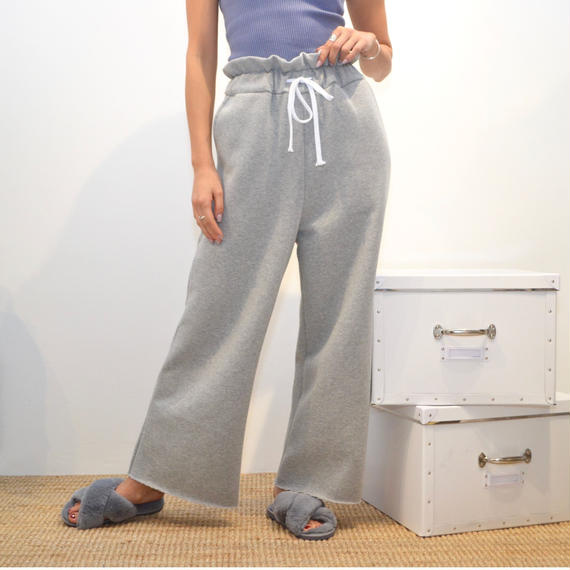 high waist sweat pants(パンツ 2色)