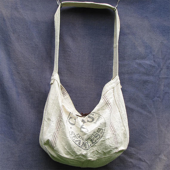 "Vtg Newspaper Bag ""Feedsack"""