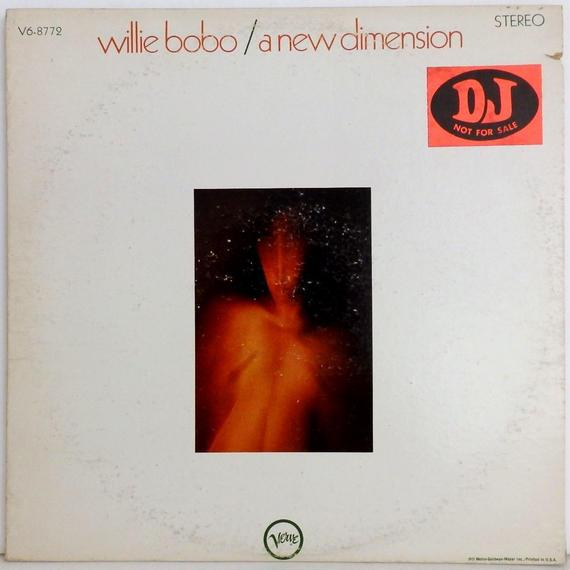 激レア ★黄プロモ 高音質★完全 オリジナル WILLIE BOBO a new dimension VERVE  8772 ラテン Latin rare groove US盤 レアグルーブ