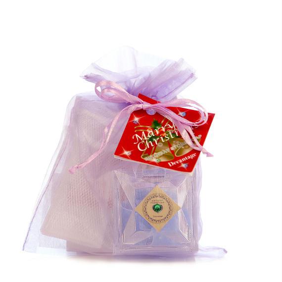 【クリスマス限定】バースデーストーンソープマリン mini プチギフト (プルメリアの香り)¥1,700+税