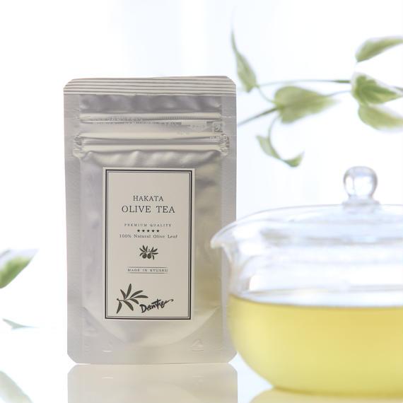 HAKATAオリーブティー2400円+税  オリーブの葉の粉末のお茶で代謝を高めてダイエット!