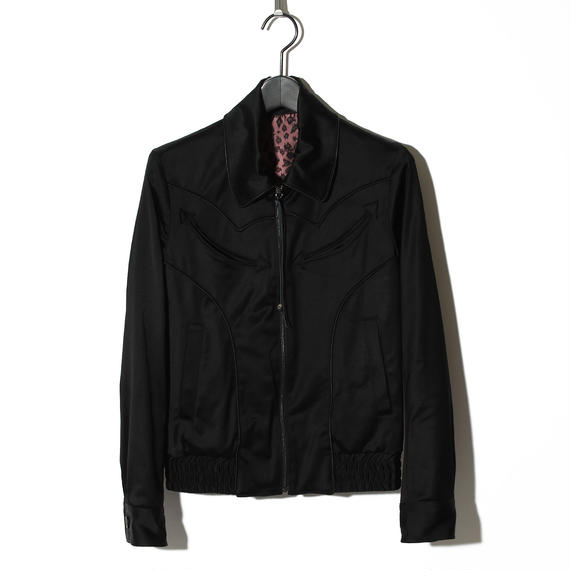 Satin Blouson / BLACK 2902310