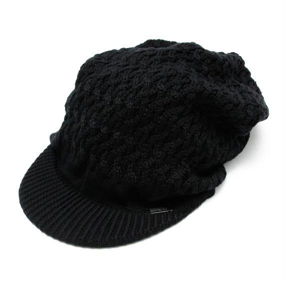 B.H.C.C Swaro Knit Casquette / BLACK 2902503