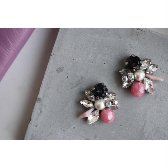 pink black bijou