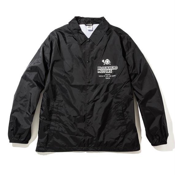 BLOCKHEAD MOTORS ナイロンジャケット(ブラック) / Nylon jacket BLACK