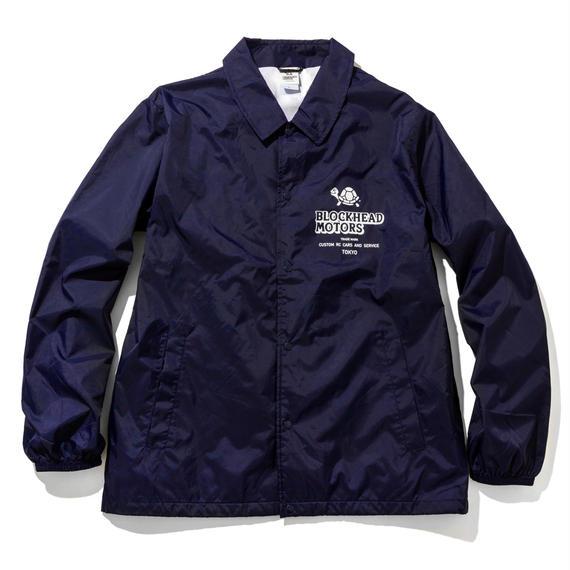 BLOCKHEAD MOTORS ナイロンジャケット(ネイビー) / Nylon jacket NAVY