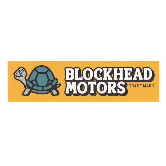 ロゴステッカー横長タイプ/BH Logo Sticker
