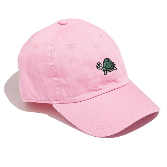刺繍ワンポイントCAP(ピンク)