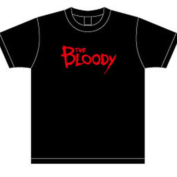 The Bloody Logo Tシャツ Black/Red
