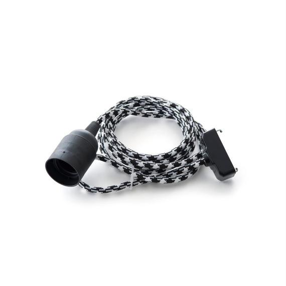 LINEME | BASIC | Black × White (Houndstooth)〔L-B-94〕