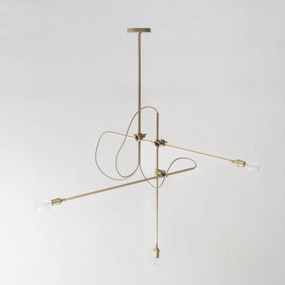 WORKSTEAD | BRASS CHANDELIER