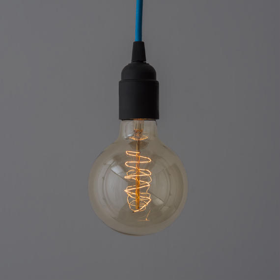 EDISON LAMP 10個セット*送料込 | G95 SPIRAL FAINT YELLOW
