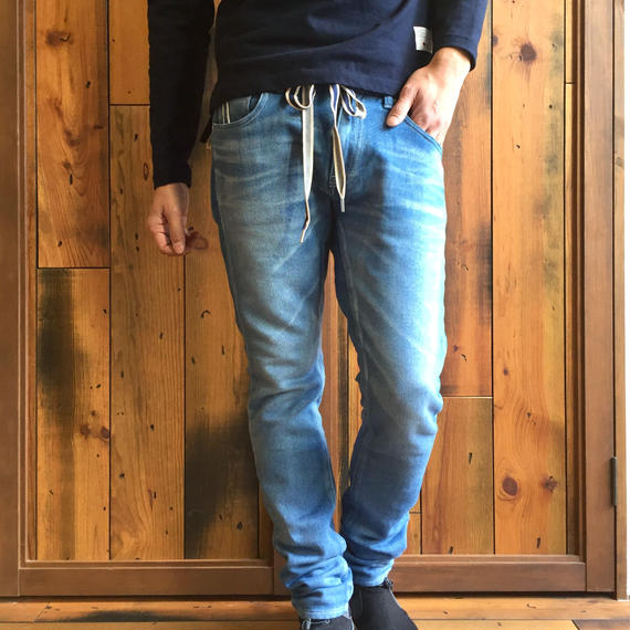 403XXD LEAN NIT DENIM PANTS / BS-S2-RDP01